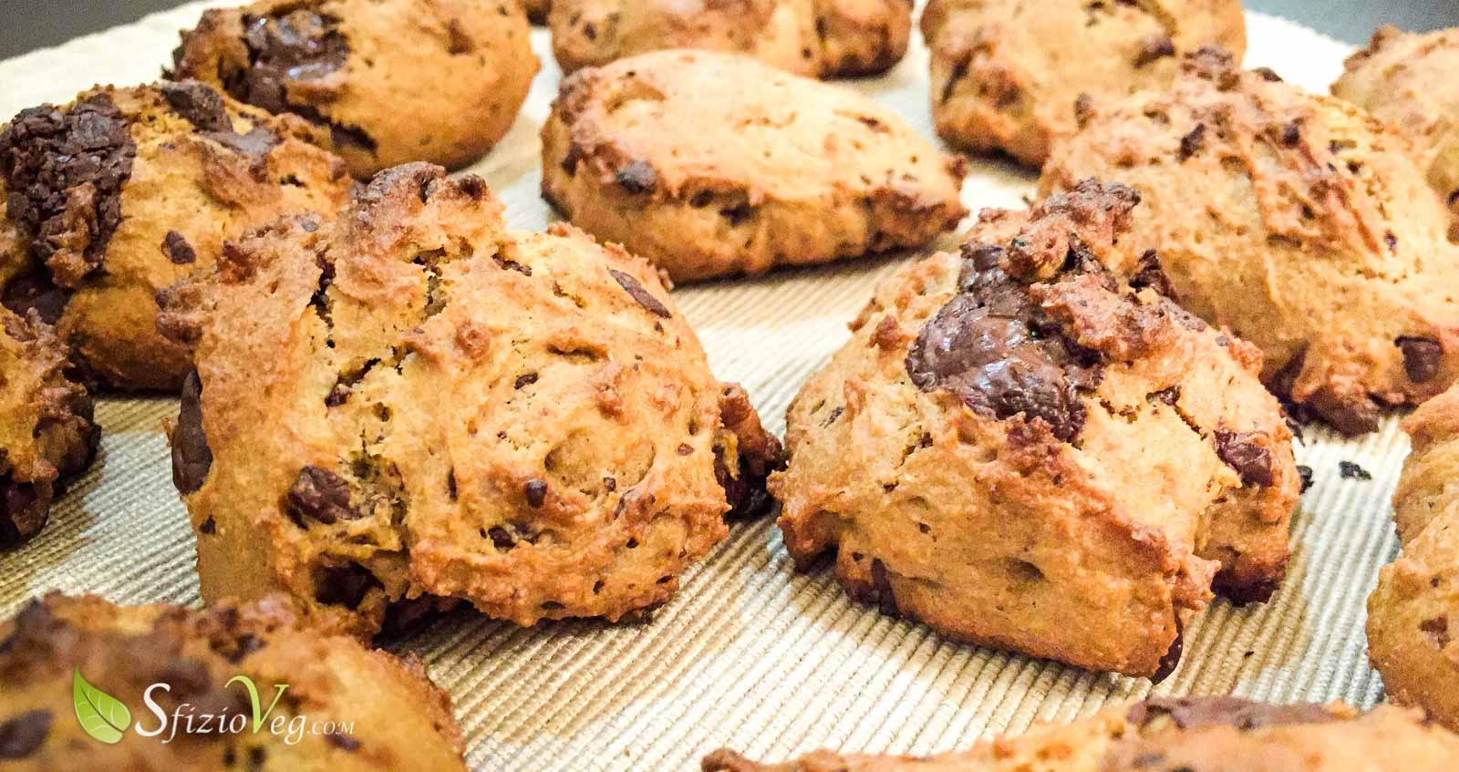 Biscotti morbidi Vegan al cioccolato