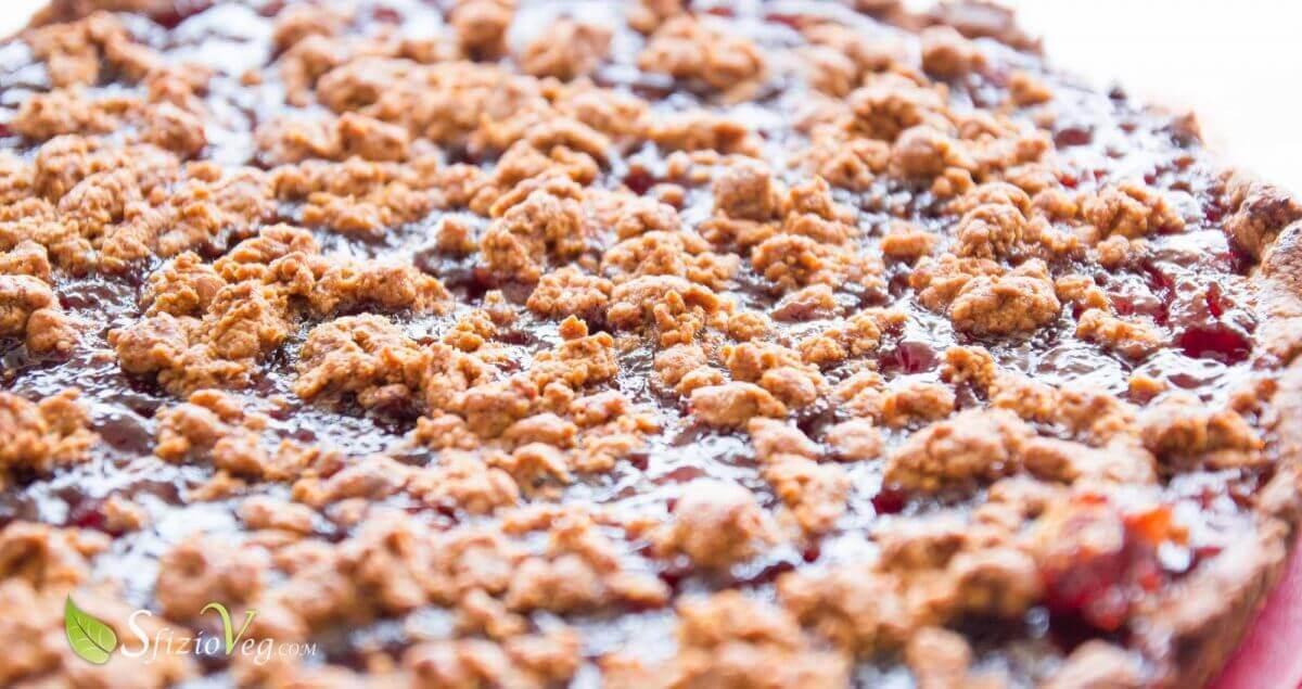 Torta sbriciolata alla marmellata con noci-2