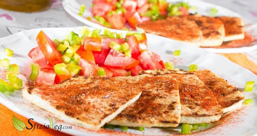 Tofu grigliato alla paprika