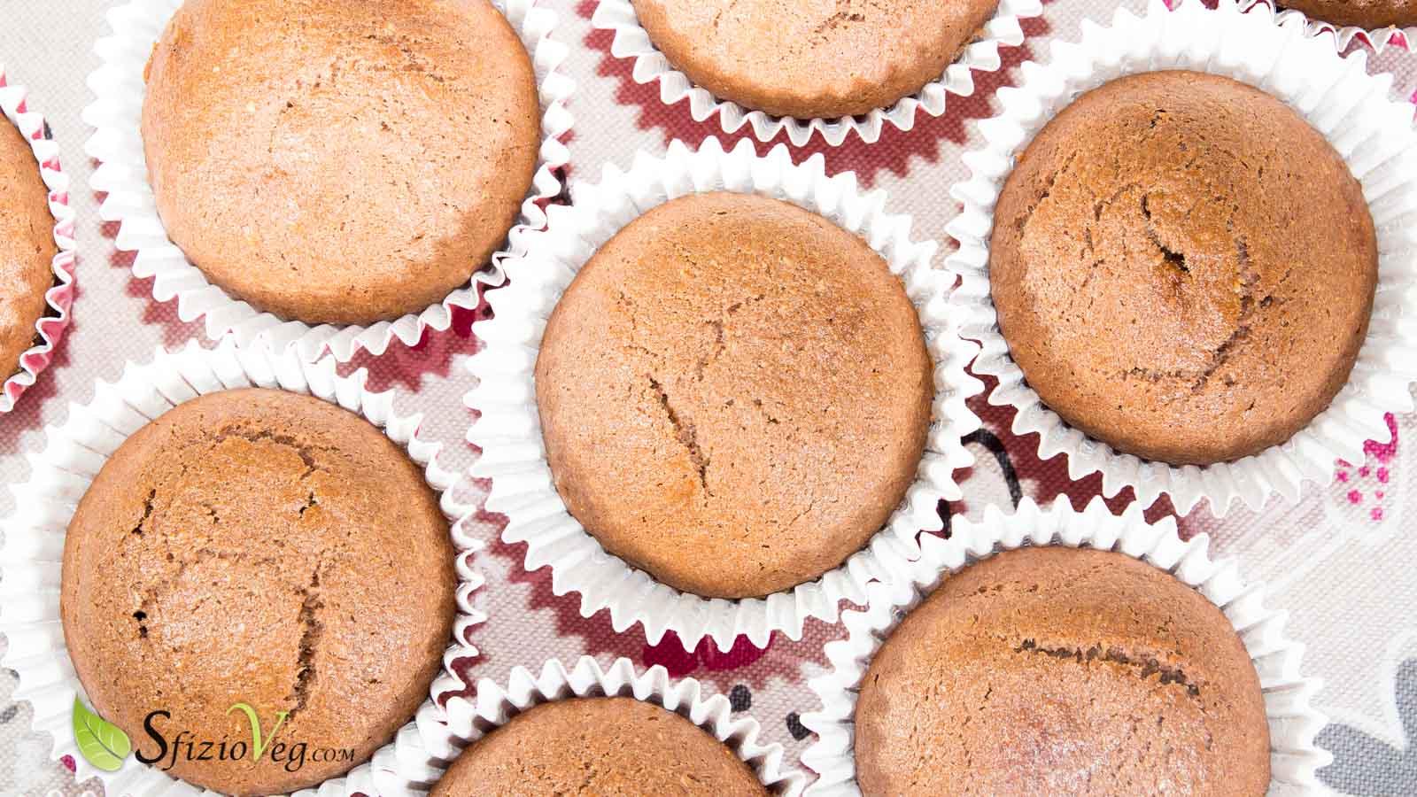 banana muffin con cioccolato