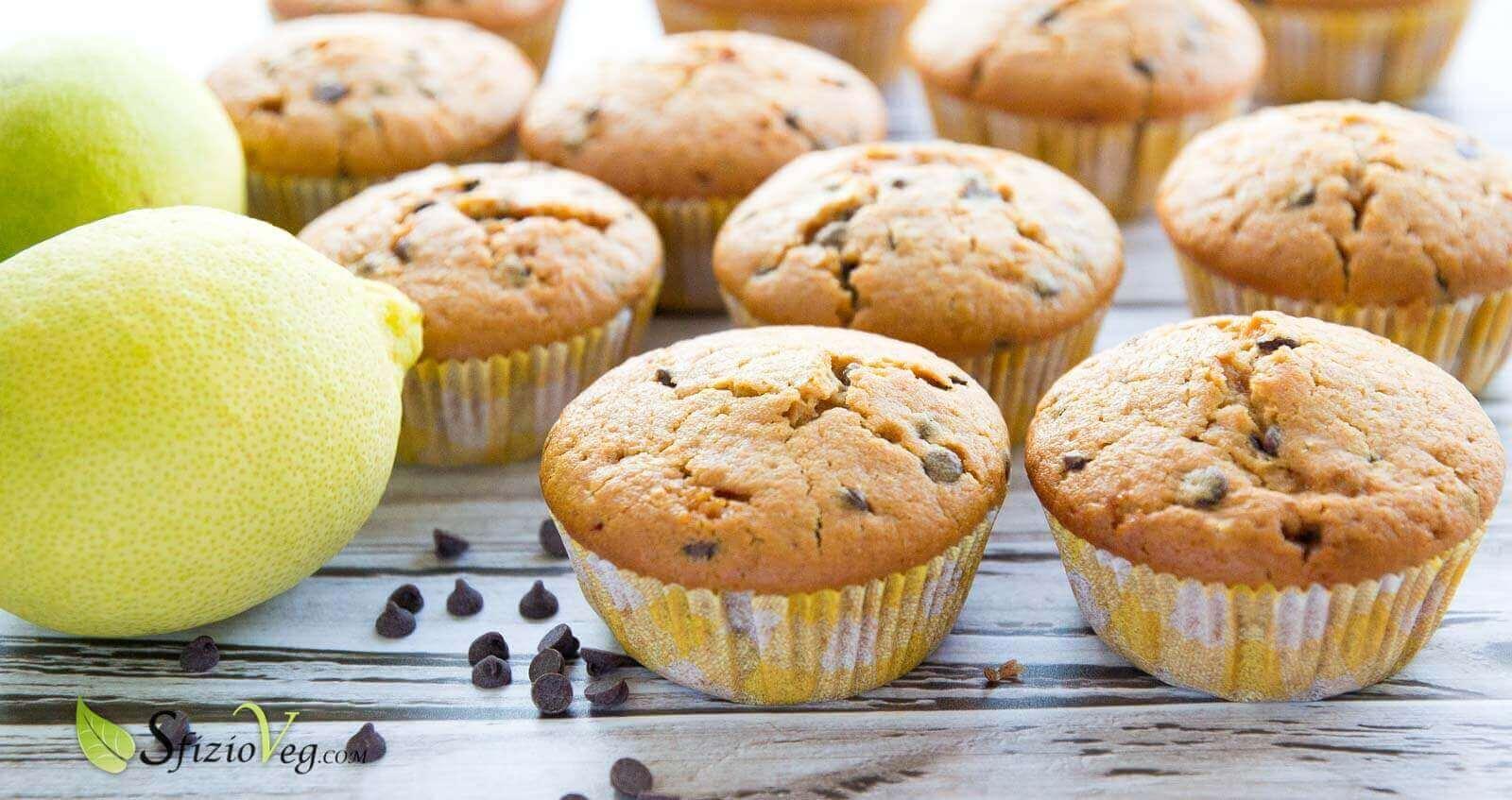 Muffin vegani al limone-4