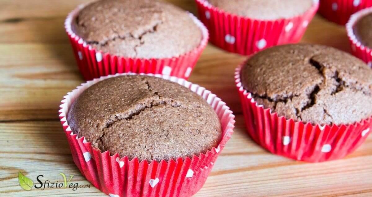 Muffin senza glutine al cioccolato - Ricetta vegan 2