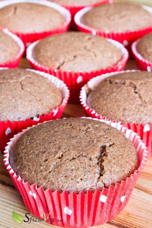 Muffin senza glutine al cioccolato - Ricetta vegan 3