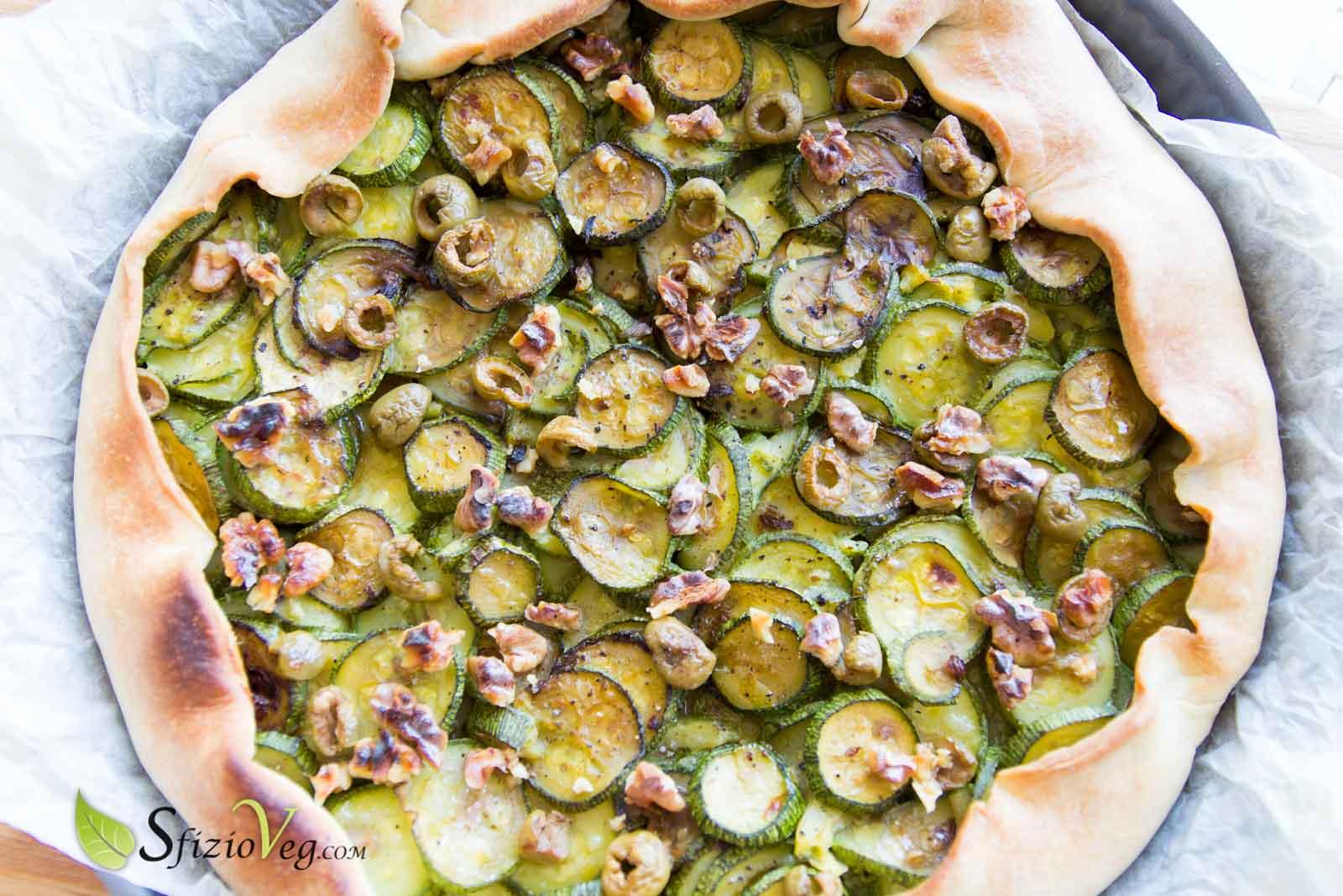 ricette di torta salata con zucchine