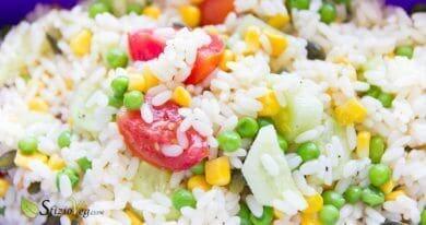 Insalata di riso fredda