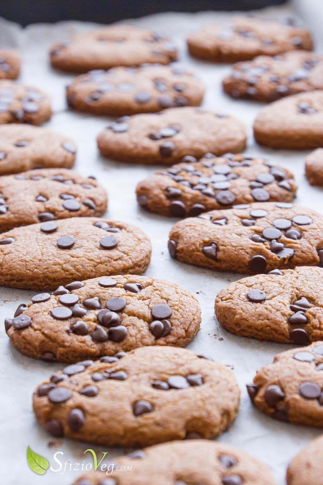 biscotti con gocce di cioccolato 3