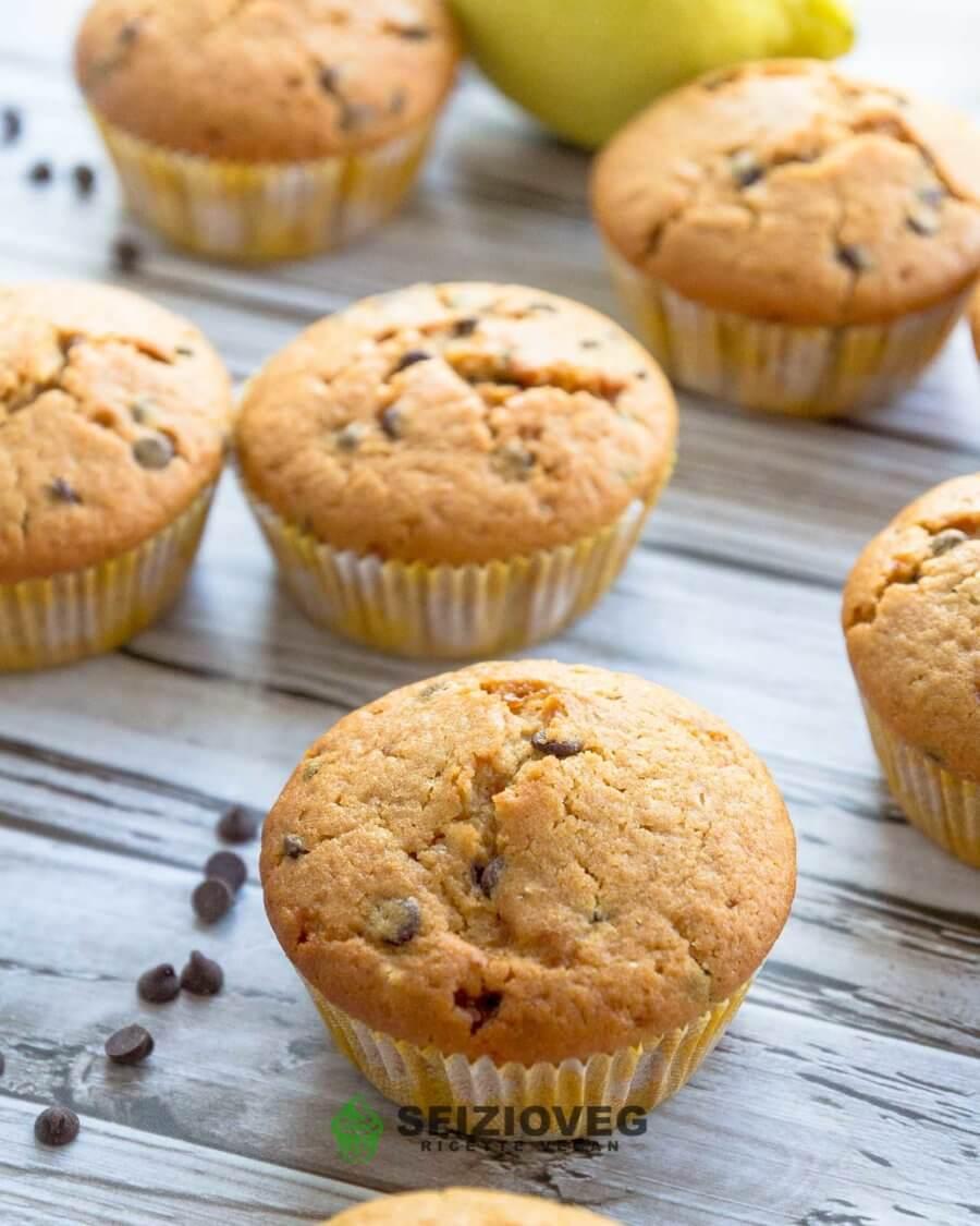 muffin limone e cioccolato