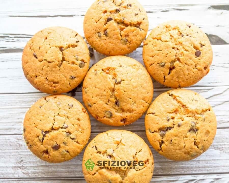 muffin vegani al limone