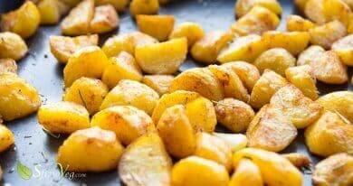 Patate al forno croccanti alla paprica