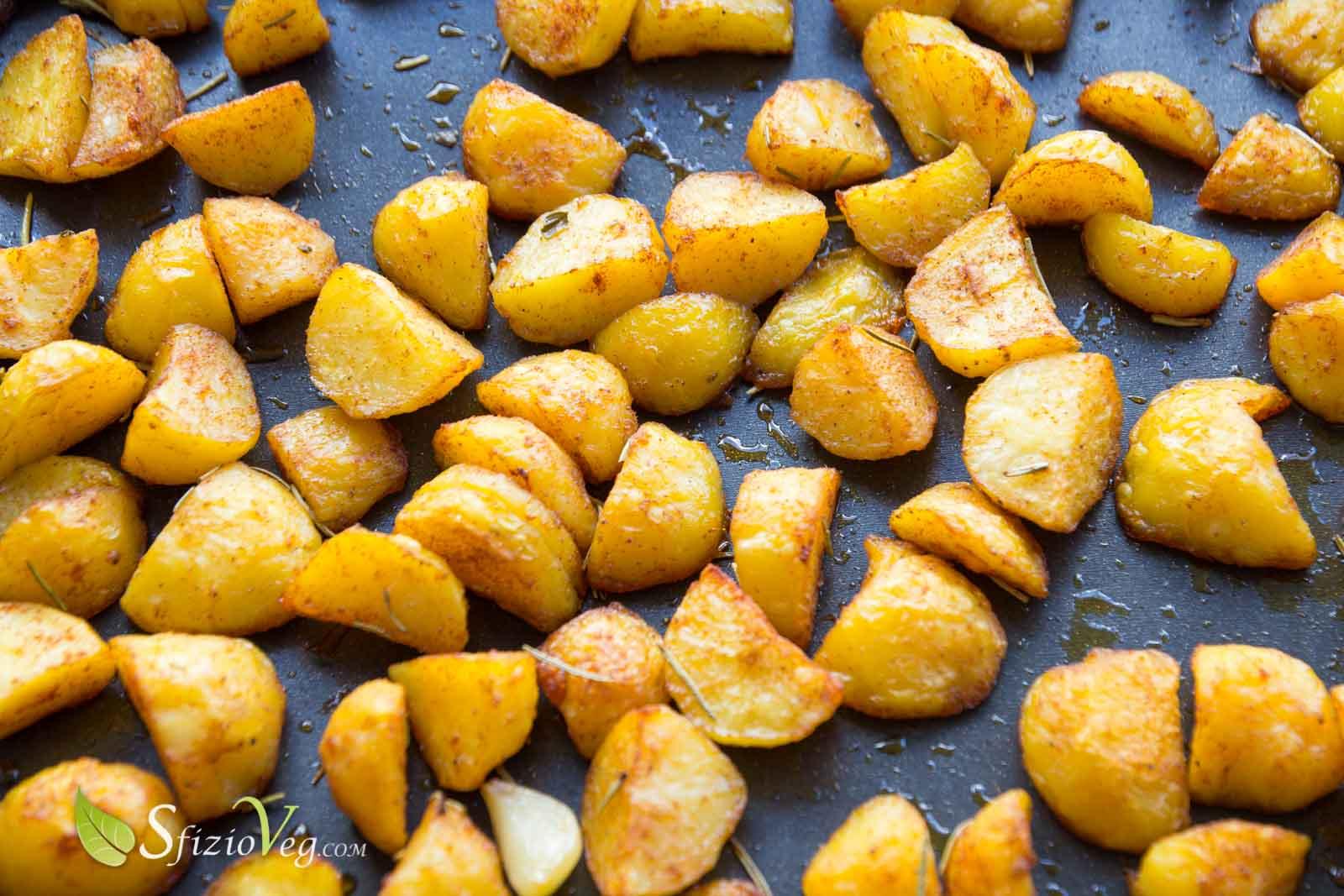 Patate croccanti alla paprica