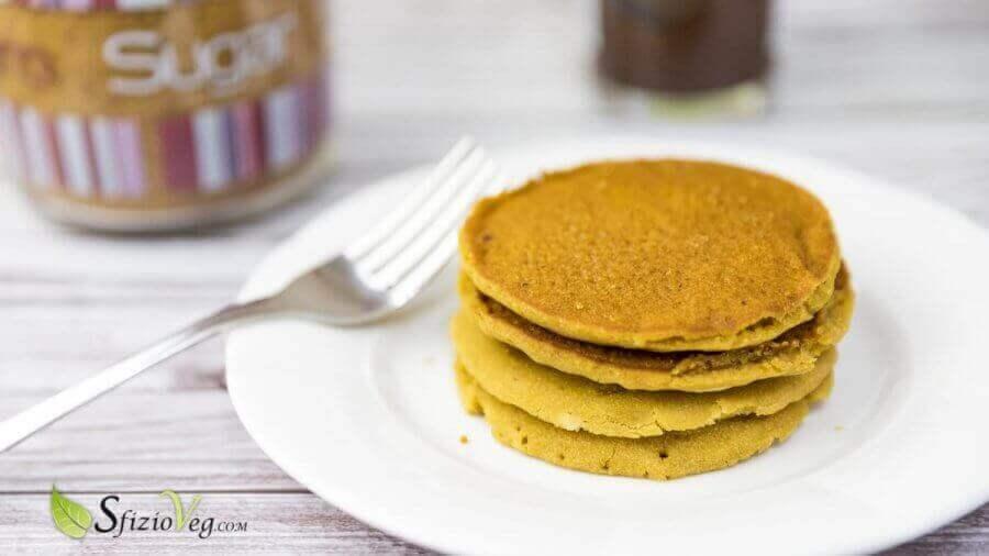 Pancake senza glutine e senza uova